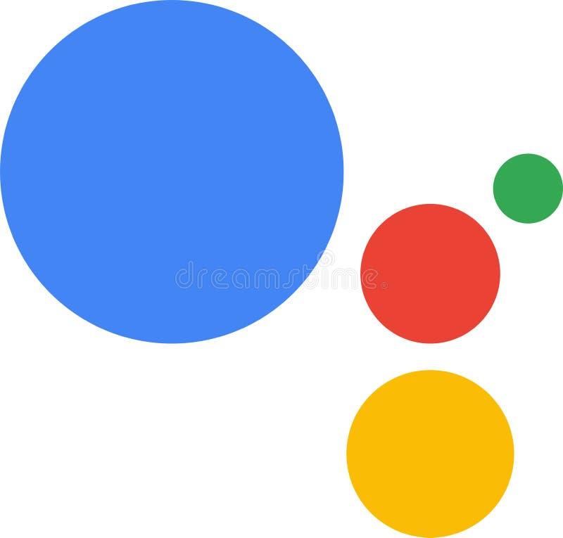 Εκδοτικός - διανυσματικό λογότυπο εικονιδίων Google βοηθητικό ελεύθερη απεικόνιση δικαιώματος