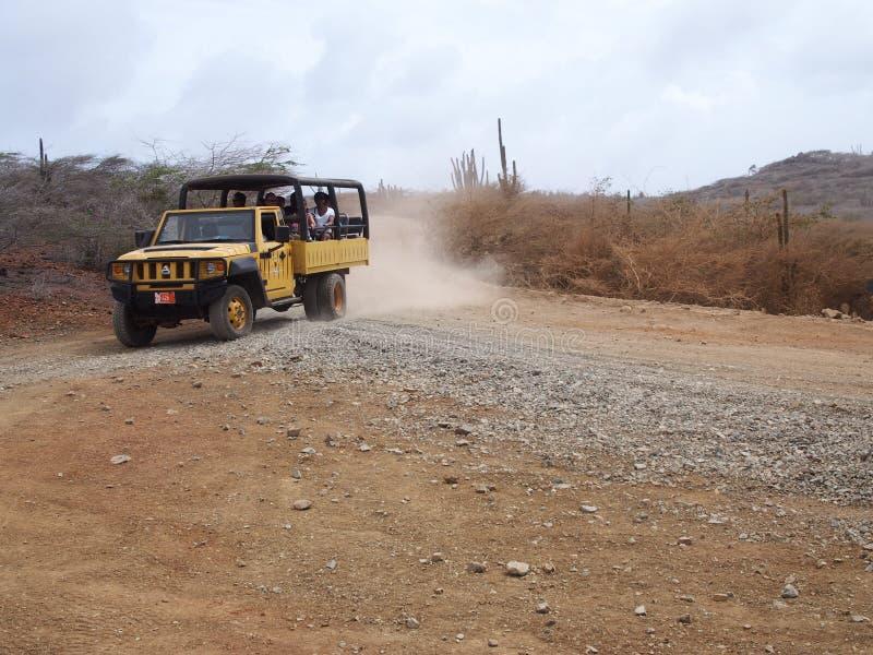 Εκδρομή Aruba safari στοκ εικόνες