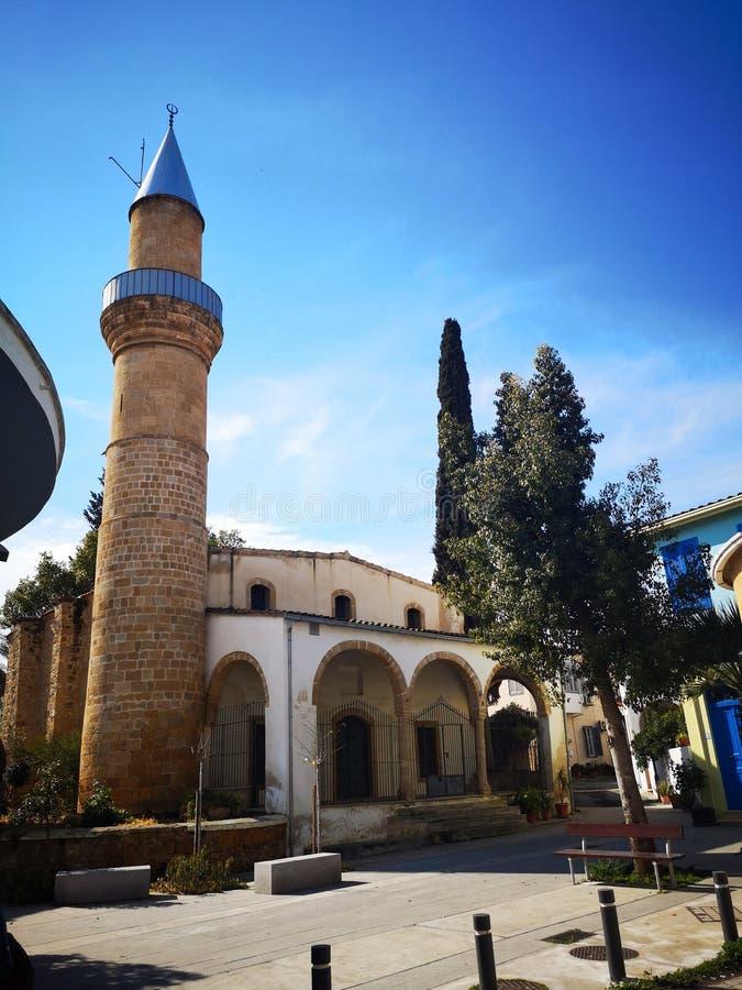 Εκείνο το μουσουλμανικό τέμενος EL Kale στη Λευκωσία - τη Κύπρο στοκ εικόνα με δικαίωμα ελεύθερης χρήσης