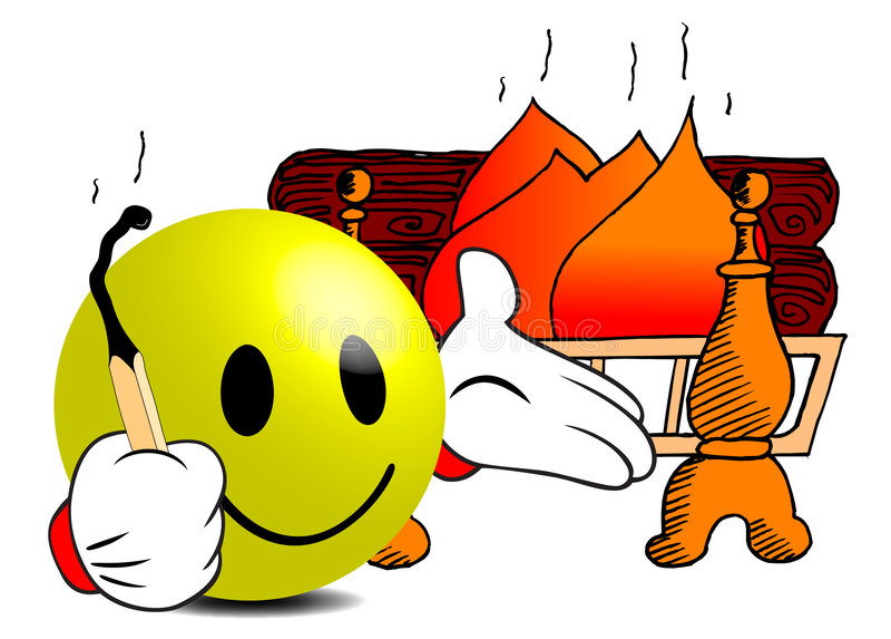 εκκινητής πυρκαγιάς στοκ φωτογραφία