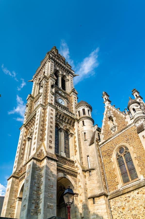 Εκκλησία Αγίου Benoit στο Le Mans, Γαλλία στοκ εικόνα με δικαίωμα ελεύθερης χρήσης