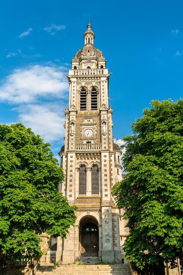 Εκκλησία Αγίου Benoit στο Le Mans, Γαλλία στοκ φωτογραφία