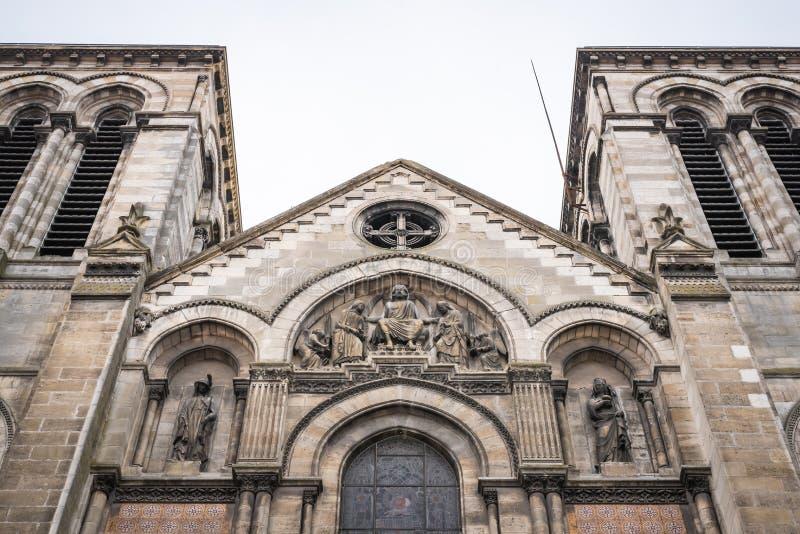 Εκκλησία Αγίου Ferdinand στο Μπορντώ στοκ εικόνες