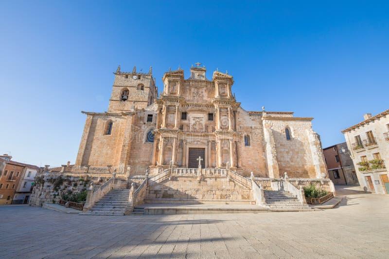 Εκκλησία Αγίου Mary Gumiel de Izan στοκ φωτογραφίες με δικαίωμα ελεύθερης χρήσης