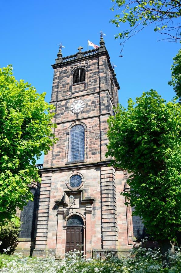 Εκκλησία Αγίου Modwens, Burton επάνω στο Trent στοκ εικόνες με δικαίωμα ελεύθερης χρήσης