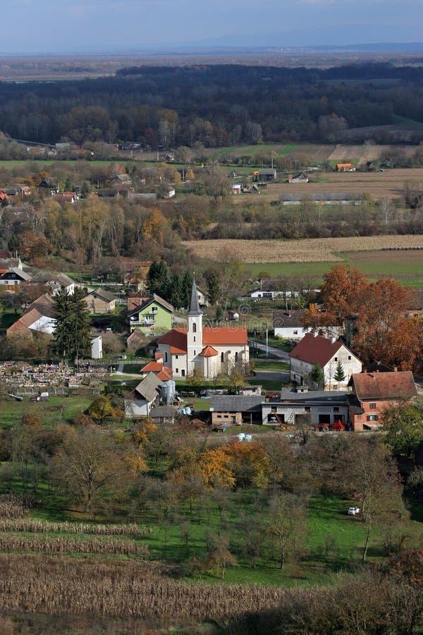 Εκκλησία Αγίου Roch σε Kratecko, Κροατία στοκ εικόνα με δικαίωμα ελεύθερης χρήσης