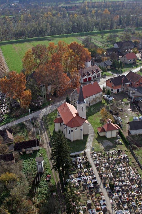 Εκκλησία Αγίου Roch σε Kratecko, Κροατία στοκ φωτογραφίες με δικαίωμα ελεύθερης χρήσης