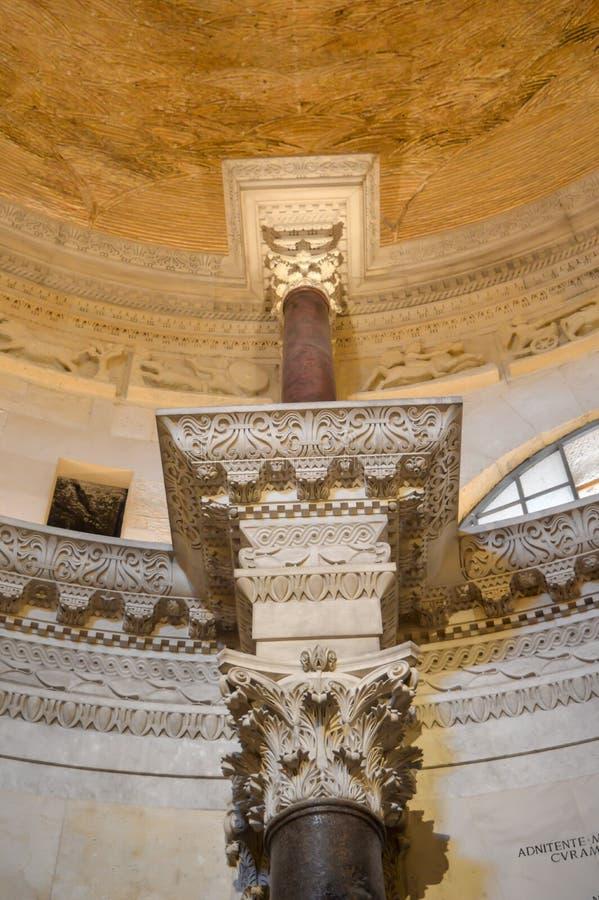 Εκκλησία Αγίου Roch Roka κοντά στο παλάτι Diocletian στη διάσπαση στις 15 Ιουνίου 2019 στοκ εικόνα