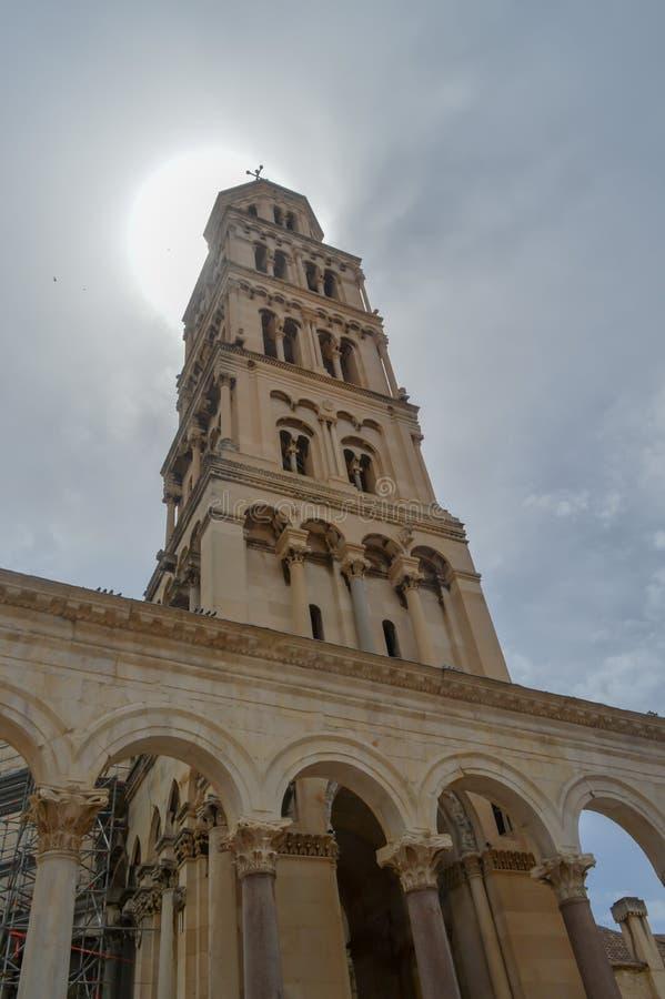 Εκκλησία Αγίου Roch Roka κοντά στο παλάτι Diocletian στη διάσπαση στις 15 Ιουνίου 2019 στοκ φωτογραφίες με δικαίωμα ελεύθερης χρήσης