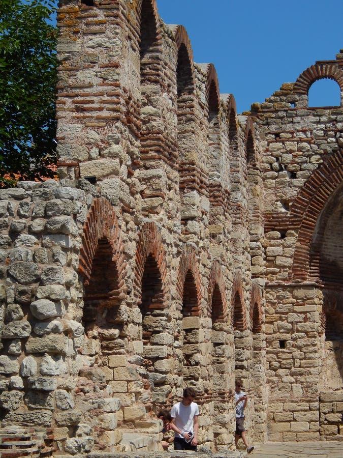 Εκκλησία Αγίου Sophia σε Nessebar, περιοχή Burgas, της Βουλγαρίας στοκ φωτογραφία με δικαίωμα ελεύθερης χρήσης