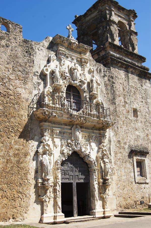 Εκκλησία αποστολής του San Jose, San Antonio, Τέξας, ΗΠΑ στοκ φωτογραφία