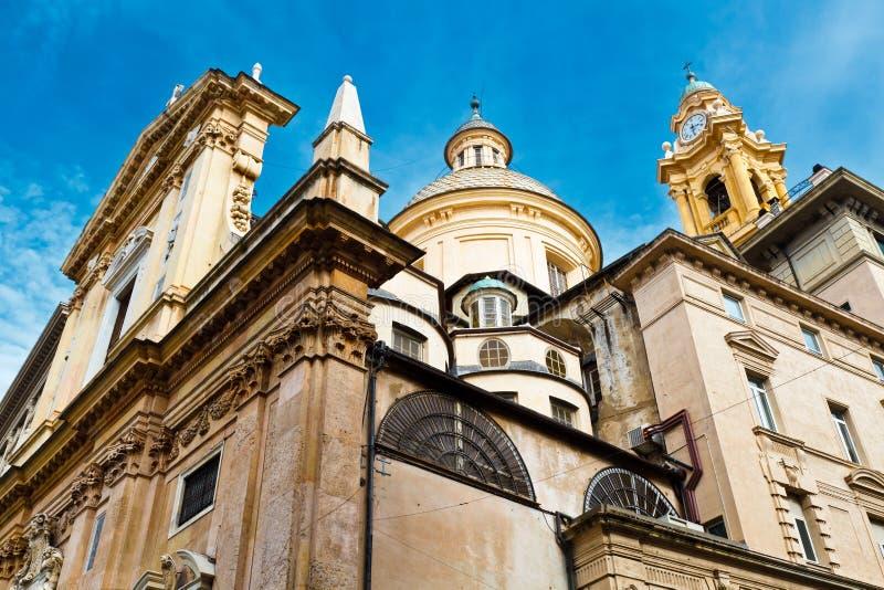 εκκλησία Γένοβα παλαιός Άγιος του Andrew στοκ φωτογραφία