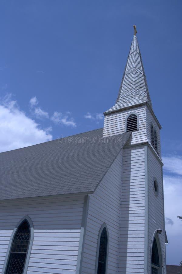 εκκλησία γωνίας ευρεία Στοκ φωτογραφία με δικαίωμα ελεύθερης χρήσης