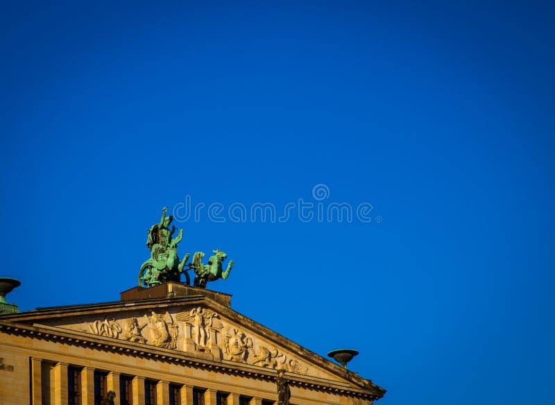 Εκκλησία δράκων και αναβατών στο Βερολίνο στοκ εικόνες με δικαίωμα ελεύθερης χρήσης
