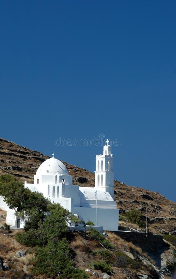 εκκλησία ελληνικά στοκ εικόνα