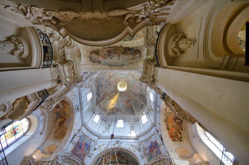 εκκλησία εσωτερικός Nicholas Π στοκ εικόνες