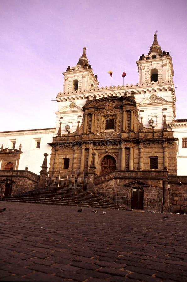 εκκλησία Ισημερινός Κο&upsil στοκ εικόνες