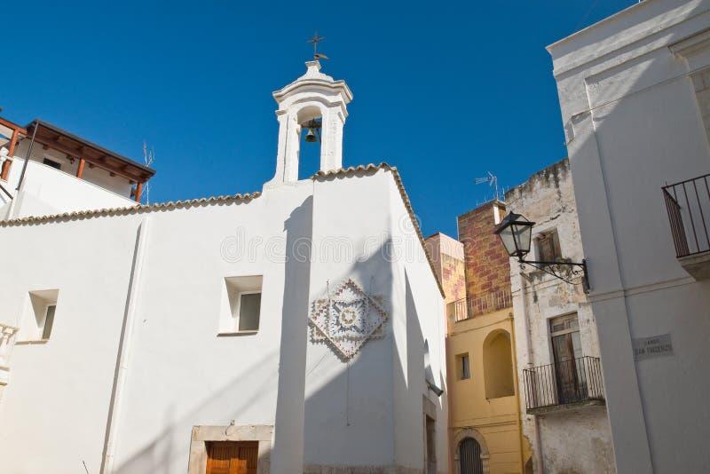 εκκλησία ιστορική Rutigliano Πούλια Ιταλία στοκ φωτογραφία με δικαίωμα ελεύθερης χρήσης