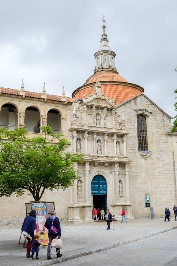 Εκκλησία και μονή του S Goncalo στοκ φωτογραφίες με δικαίωμα ελεύθερης χρήσης