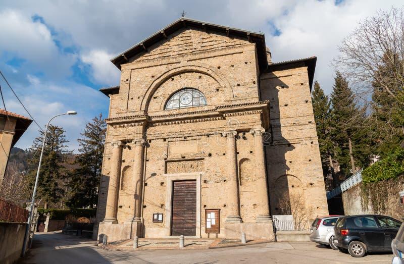 Εκκλησία κοινοτήτων του degli Angeli της Σάντα Μαρία στο χωριό Rasa, μέρος του δήμου του Βαρέζε, Ιταλία στοκ εικόνες