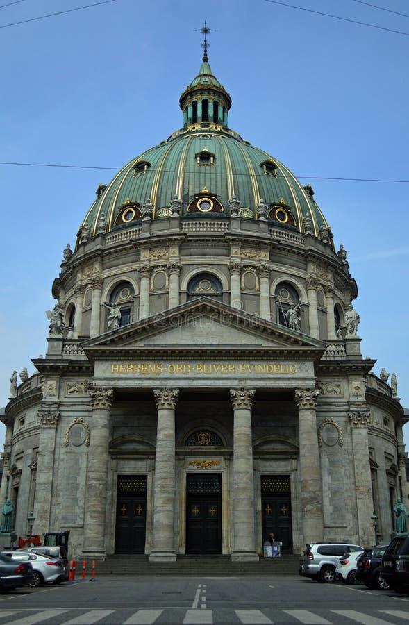 Εκκλησία Κοπεγχάγη του Frederik ` s στοκ εικόνα με δικαίωμα ελεύθερης χρήσης