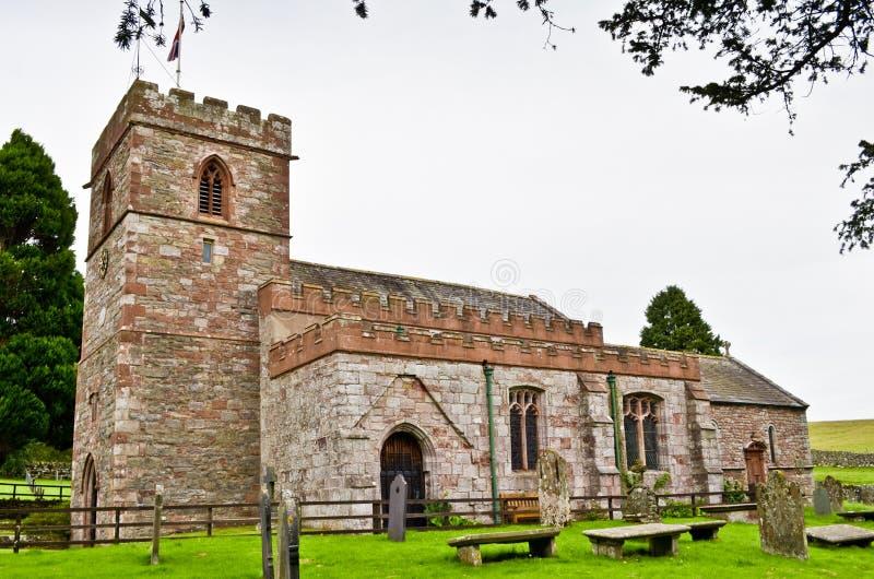 Εκκλησία κόκκινου ψαμμίτη στοκ φωτογραφίες
