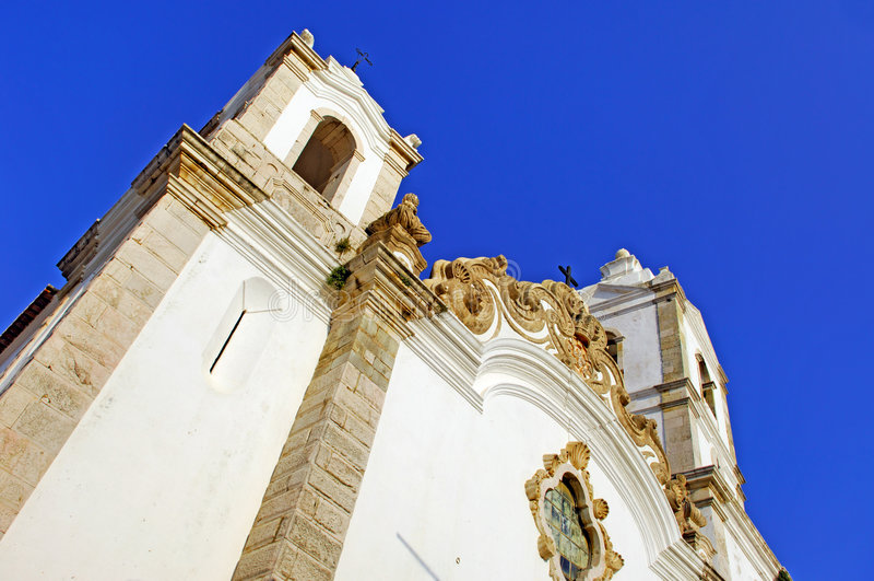 εκκλησία Λάγος Πορτογ&alph στοκ φωτογραφία