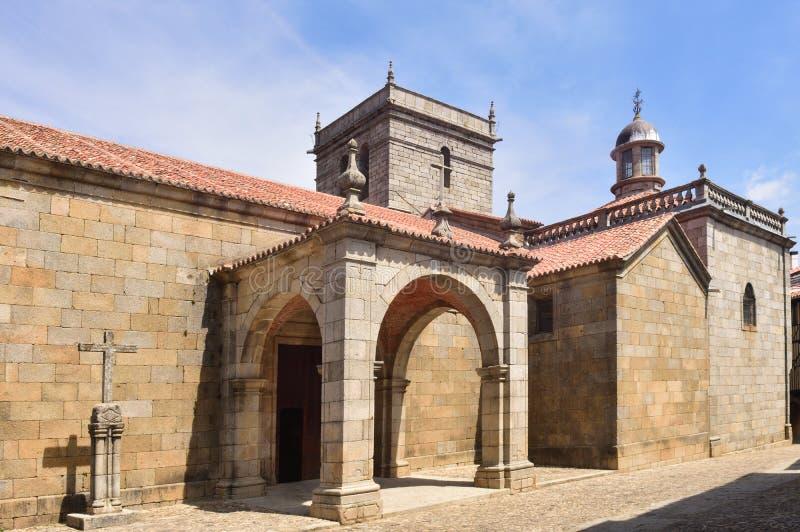 Εκκλησία Λα Asuncion, Λα Alberca, Σαλαμάνκα επαρχία, Καστίλλη-Leon στοκ εικόνες