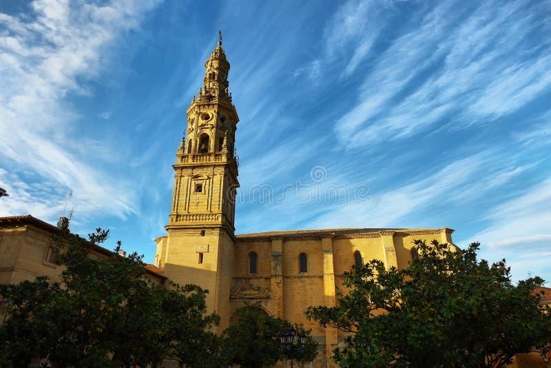Εκκλησία Λα Asuncion Briones στο χωριό, Λα Rioja στοκ εικόνες με δικαίωμα ελεύθερης χρήσης