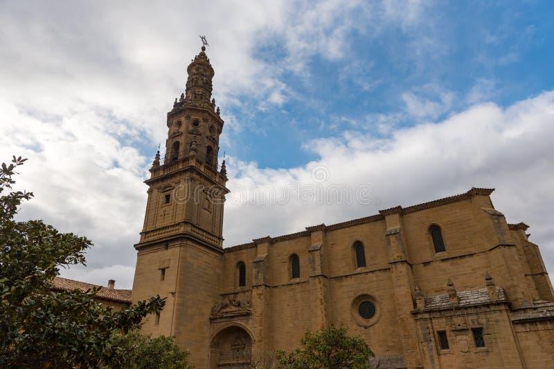 Εκκλησία Λα Asuncion Briones, Λα Rioja, Ισπανία στοκ εικόνες