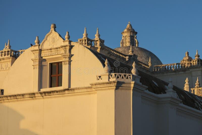 Εκκλησία Λα Merced στο Leon, Νικαράγουα στοκ φωτογραφία