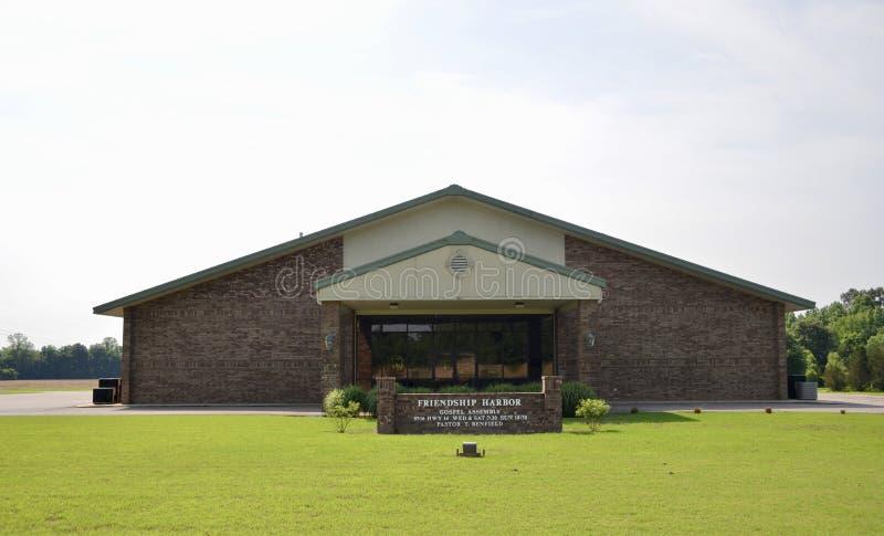 Εκκλησία λιμενικού Ευαγγέλιου φιλίας, Millignton, TN στοκ εικόνα
