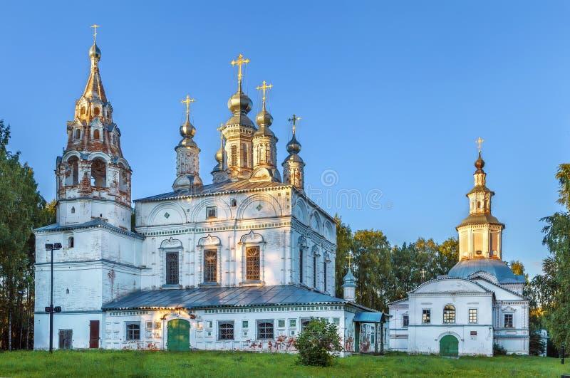 Εκκλησία μεταμόρφωσης, Veliky Ustyug, Ρωσία στοκ φωτογραφία με δικαίωμα ελεύθερης χρήσης