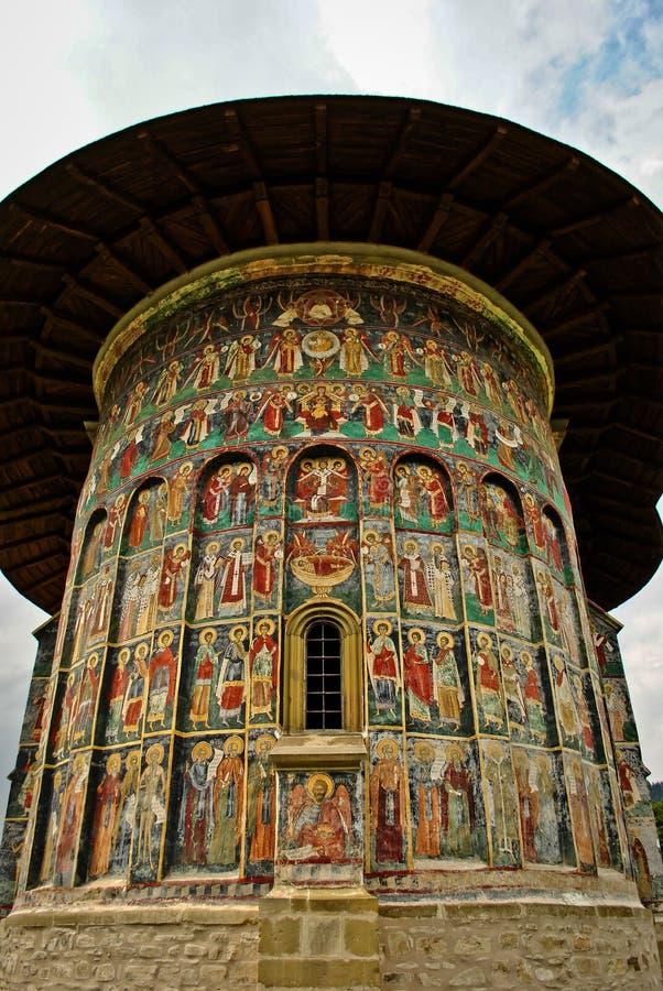 εκκλησία Μολδαβία στοκ φωτογραφία