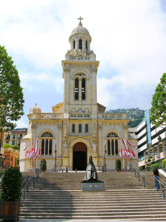 εκκλησία Μονακό Άγιος Charles στοκ εικόνες με δικαίωμα ελεύθερης χρήσης