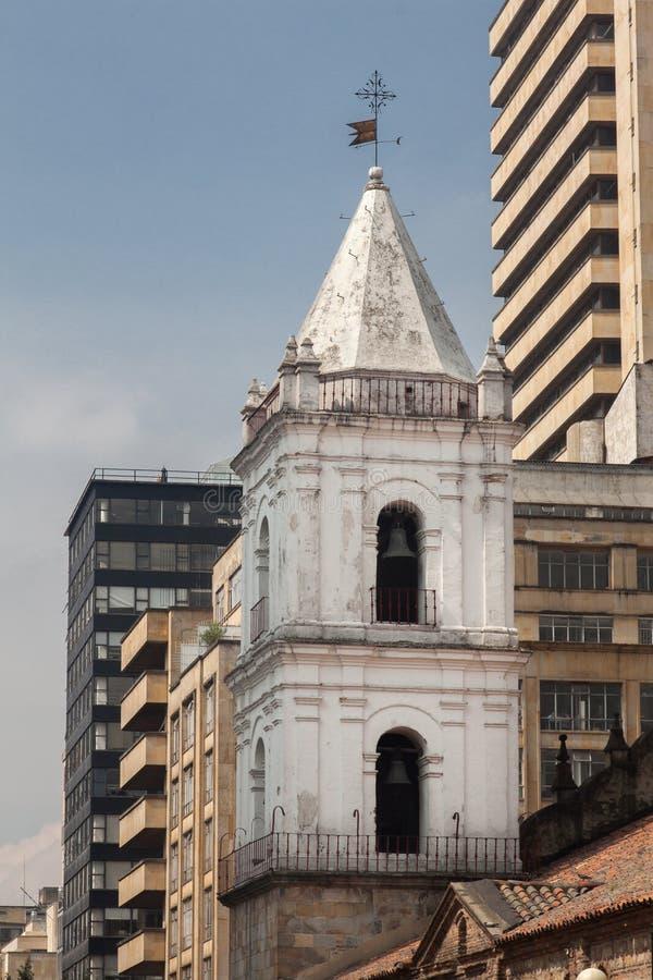 Εκκλησία Μπογκοτά Κολομβία του Σαν Φρανσίσκο στοκ φωτογραφίες