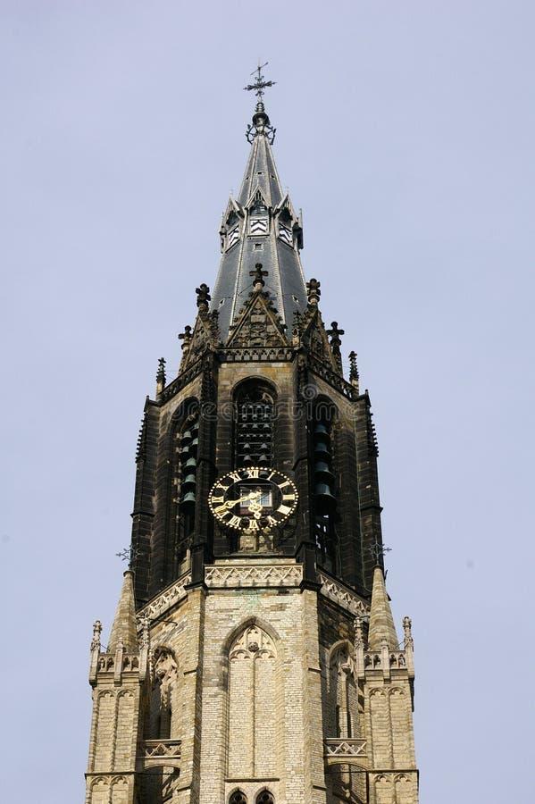εκκλησία Ντελφτ στοκ φωτογραφίες με δικαίωμα ελεύθερης χρήσης