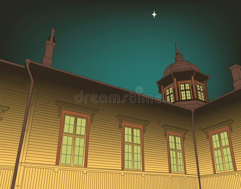 εκκλησία ξύλινη ελεύθερη απεικόνιση δικαιώματος