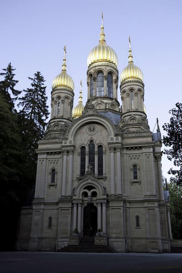 εκκλησία ορθόδοξο ρωσι& στοκ φωτογραφία