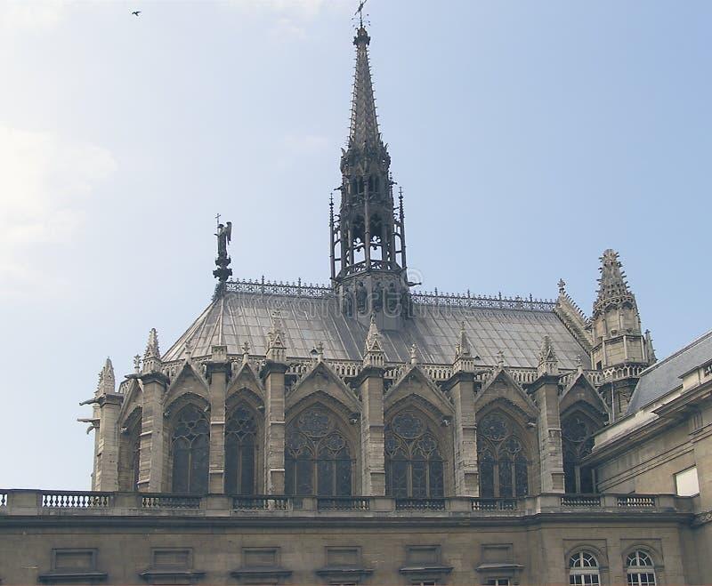 εκκλησία Παρίσι παρεκκλ Στοκ φωτογραφίες με δικαίωμα ελεύθερης χρήσης