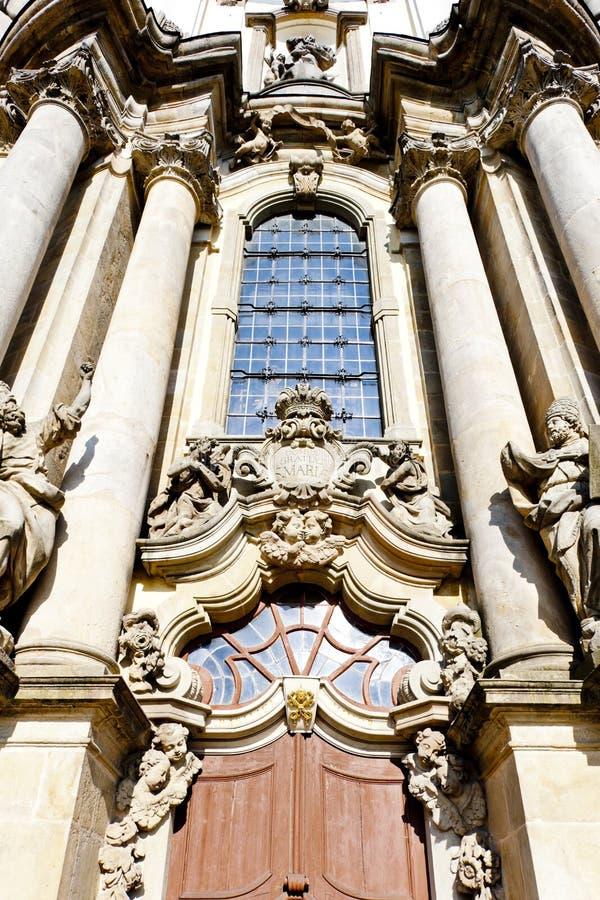 εκκλησία προσκυνήματος σε Krzeszow, Σιλεσία, Πολωνία στοκ εικόνες με δικαίωμα ελεύθερης χρήσης