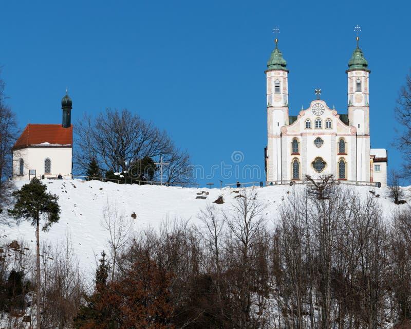 Εκκλησία σε κακό Tölz στοκ φωτογραφίες με δικαίωμα ελεύθερης χρήσης