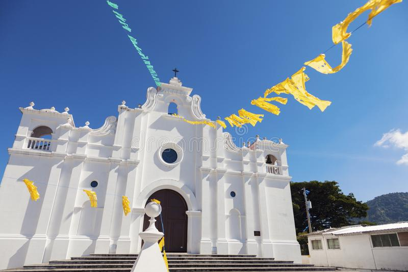 Εκκλησία σε Apaneca, Ελ Σαλβαδόρ στοκ εικόνα με δικαίωμα ελεύθερης χρήσης