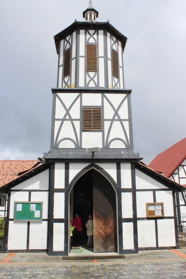 Εκκλησία σε Colonia Tovar στοκ εικόνα με δικαίωμα ελεύθερης χρήσης
