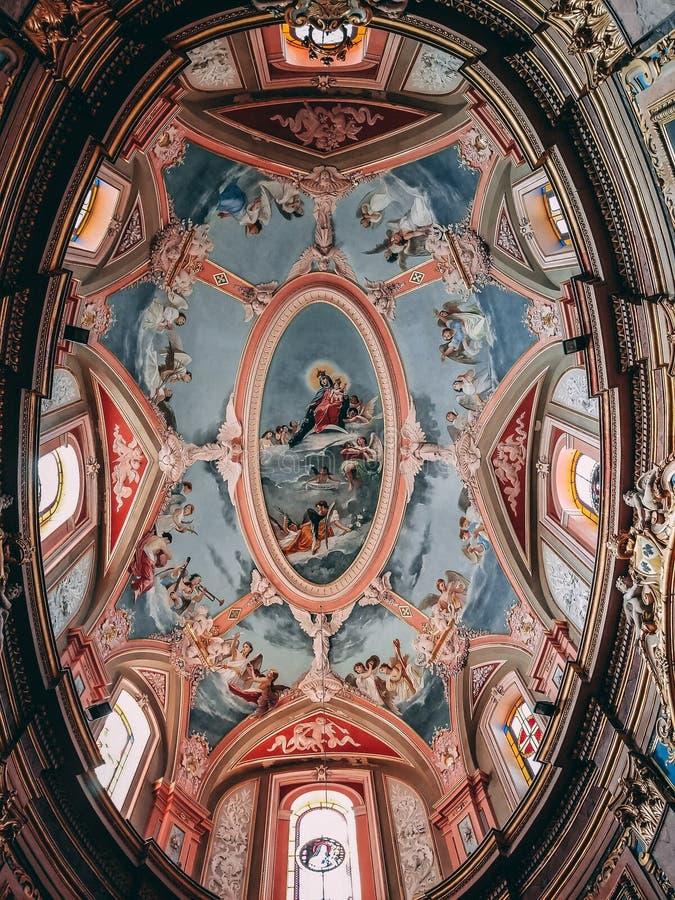 Εκκλησία σε Mdina στοκ φωτογραφία με δικαίωμα ελεύθερης χρήσης