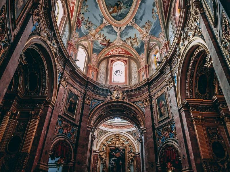 Εκκλησία σε Mdina στοκ φωτογραφία