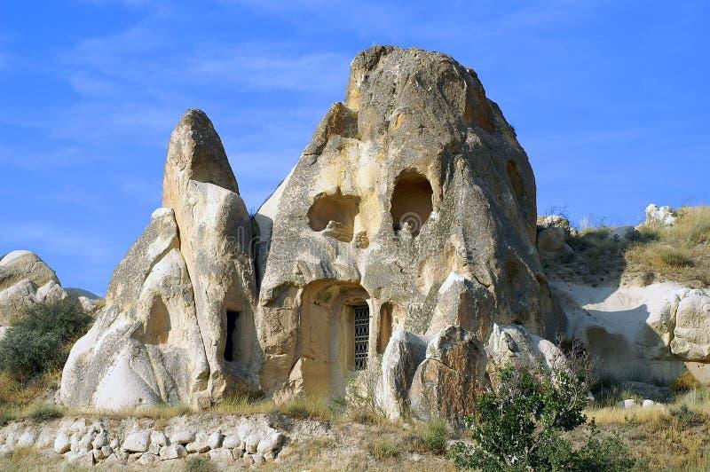 εκκλησία σπηλιών στοκ φωτογραφίες