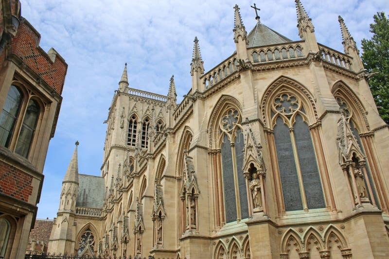 Εκκλησία στο Καίμπριτζ, Αγγλία στοκ φωτογραφία με δικαίωμα ελεύθερης χρήσης