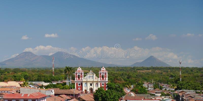 Εκκλησία στο Leon Νικαράγουα στοκ εικόνα με δικαίωμα ελεύθερης χρήσης