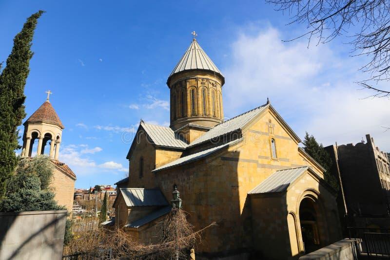 Εκκλησία στο Tbilisi - τη Γεωργία στοκ εικόνα